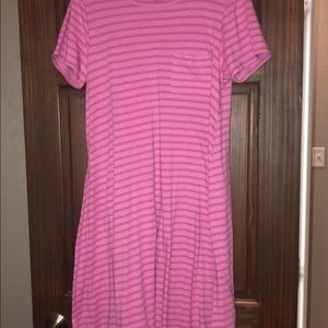 LulaRoe Carly dress 🌺